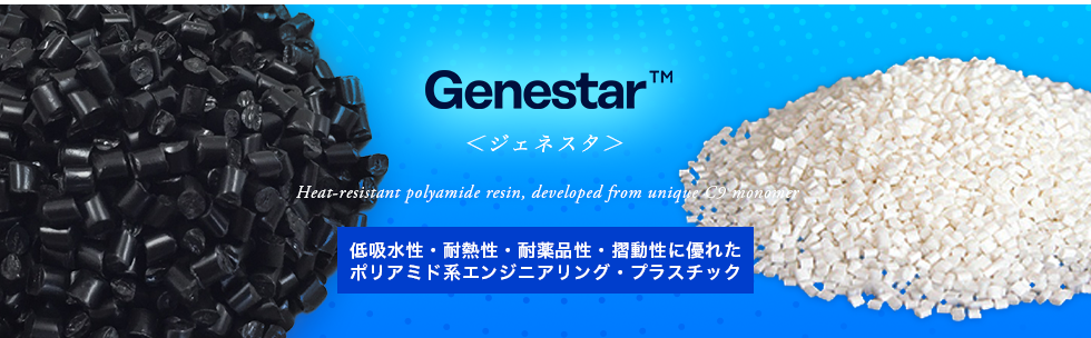 Genestar/Eco-friendly highly heat-resistant polyamide resin